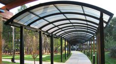 covered walkways canopies - Google Search