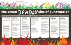 The Seven Deadly Sins of Punctuation – The Visual Communication Guy: Design, Writing, and Teaching Resources All in One Place!