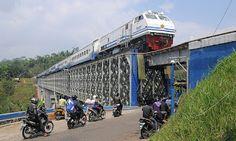 Jembatan Cirahong, Eksotisme Peninggalan Sejarah di Perbatasan Ciamis dan Tasikmalaya
