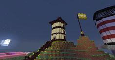 Asian Inspired Tower Exterior (Showing Landscaping)