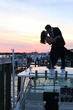 Yes, we stood on top of a boat for our engagements! Thanks to @Michelle Flynn Flynn T Michelle Taulbee Photography for this lovely image. http://michelletaulbeephoto.com/blog/