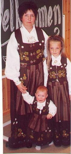 Hello all, Part three of this overview is forthcoming. I was asked about the costumes of Trondelag, and so I wrote this one fi. Folk Costume, Costumes, Norwegian Clothing, Scandinavian Countries, Traditional Outfits, Vintage Photos, Norway, Disney Characters, Fictional Characters