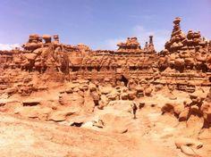 #UTAH - Goblin Valley Beautiful World, Beautiful Places, Goblin Valley, Monument Valley, Utah, Explore, Live, Board, Travel