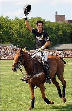Hot polo players?? Yes, please!