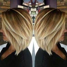 Inverted Blonde Fine Hair Bob Haircut, bob haircuts for fine hair,inverted bob…