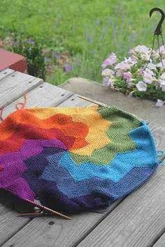 10 Free Rainbow Knitting Patterns!
