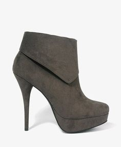 Asymmetrical Cuff Booties | FOREVER 21 - 2000048568