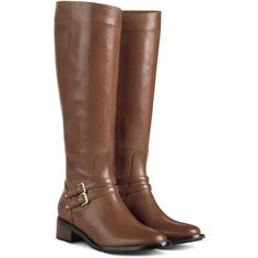 Dover Riding Boots are a Fall essential. Mid Heel Shoes, Strappy Shoes, Heel Boots, Shiny Boots, Brown Boots, Cole Haan Boots, Equestrian Boots, Buckle Boots, Me Too Shoes