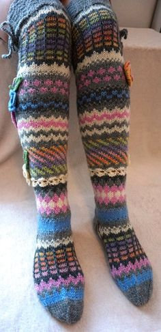 Hand knitted socks are great and in cold weather, wonderful gift for You and for. Hand knitted socks are great and in cold weather, wonderful gift for You and for loved ones! The socks are hand knitted . Wool Socks, Knitting Socks, Hand Knitting, Rainbow Socks, Over Knee Socks, Sock Crafts, Sock Dolls, Sock Yarn, Vintage Crochet