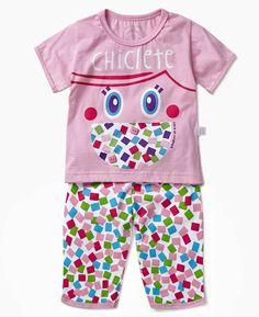 pijama cara de criança