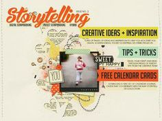 Storytelling volume2 - have you seen May's Storytelling Publication by @Jaimee Kaiser of Just Jaimee Designs?  It's such a fantastic read, filled with so much inspiration, tips, tricks and so much more!  Come check it out!