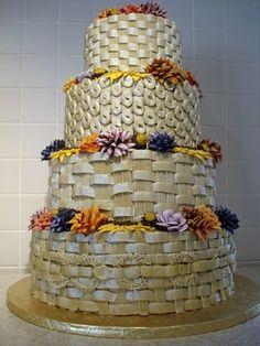 O & H Danish Bakery Fall Themed #Wedding Cake Beautiful Wedding Cakes, Beautiful Bride, Danish Bakery, Buttercream Icing, Autumn Theme, Yummy Cakes, Body Shapes, Bridesmaid, Wedding Ideas