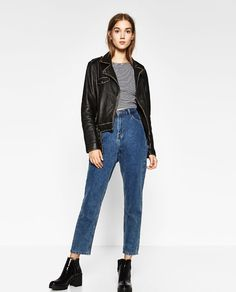 Image 1 of MOM JEANS from Zara