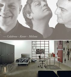 Enzo Calabrese, Geert Koster and Fabio Meliota collaborated with Lema for the development of Tazebao System. Collaboration, Portrait, World, Artwork, Search, Design, The World, Art Work, Research