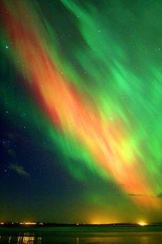 Northern Lights Taken In Scotland