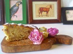 Torta di mele con noci e cannella / Apple cake with walnuts and cinnamon