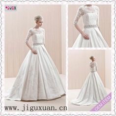0281-1hs 2012 White Ball Gown Lace Long Sleeve Wedding Dress on AliExpress.com. 10% off $187.20