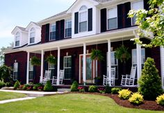 Traditional Southern Colonial Home, Traditional Southern Colonial Home in the bluegrass, Home Exterior Design