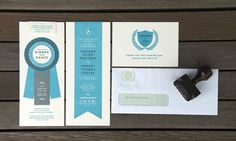 These are actually wedding invitations. When I get married, I will try to make mine look just as great as these!