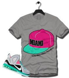 da13f3e04be New Nerd PROJECT MIAMI HAT T Shirt to Match LEBRON 9 SOUTH BEACH HEAT WADE  Lebron