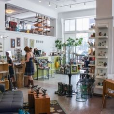 Gorgeous // Seattle - Beautiful light-filled space with great furniture, decor items, books, cards, accessories, and more.