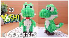 3D Perler Beads Tutorial YOSHI (Nintendo) - YouTube