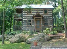 Hisrich Hills House 1820 Log House