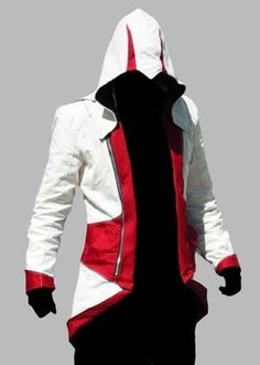 Assassins Creed 3 III Conner Kenway Hoodie Coat Jacket Cosplay Costume Top BNWT | eBay