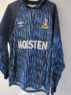 Details about Tottenham Hotspur 1992-1993 Thorstvedt Goalkeeper Football  Shirt Medium  34793 62d4abe28