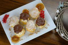 Venčeky so škoricovou plnkou Mini Cupcakes, Treats, Sweet, Desserts, Food, Basket, Sweet Like Candy, Candy, Tailgate Desserts