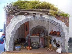 1 million+ Stunning Free Images to Use Anywhere Christmas Nativity Scene, Christmas Villages, Xmas Crafts, Christmas Projects, Free To Use Images, Garden Terrarium, Diy Dollhouse, Fairy Houses, Christmas Decorations