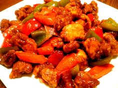 Sweet and Sour Pork Filipino Recipe #Foods #Recipe #Filipino @Filipino Recipes Portal