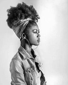 4b Natural Hair, Natural Hair Styles, Natural Hair Inspiration, Natural Hair Type, Black Girl, Photography, Black Girl Make Up