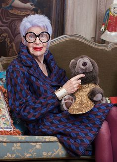 & Other Stories | Iris Apfel. With an irresistible more-is-more attitude, style icon Iris Apfel boldly interpreted our AW/14 collection.