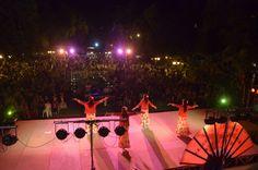 Celebración del día de la hispanidad - Plaza España