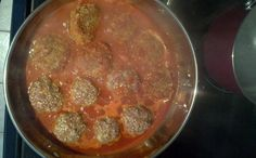Guiltless meatballs - healthy & yummy!! Not only they are full of protein, fiber, but kids will not know they are eating seeds!!