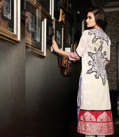 Firdous Embroidered Cambric/Cotton Kurti Collection FF_2A