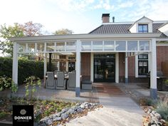 Outdoor Spaces, Outdoor Decor, Backyard, Patio, Porch, Exterior Houses, Garage Doors, Villa, Architecture