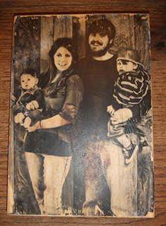 How to Make Wooden Pictures-this is awesome! A picture transfers right to wood.