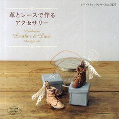Leather & Lace Accessory   Japanese Craft by JapanLovelyCrafts, $19.50