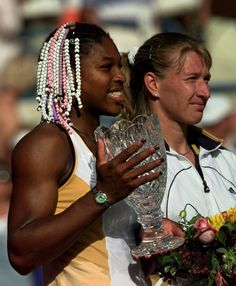 Serena defeated Steffi Graf in 1999 at Indian Wells