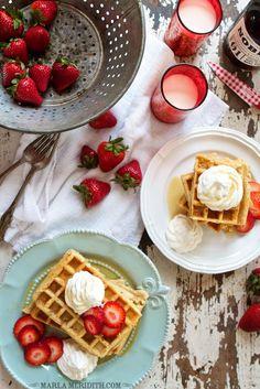 Gluten Free Oat Waffles | FamilyFreshCooking.com