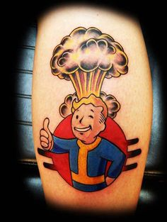 Need some Fallout-themed tattoo inspiration? Here it is.