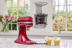 Freshly squeezed juice in the morning is easy with the Maximum Extraction slow Juicer and Sauce Attachment. Conveniently attaches to your Stand Mixer  with a compact design for endless possibilities for everyday use. Much love from KitchenAid Africa xx.