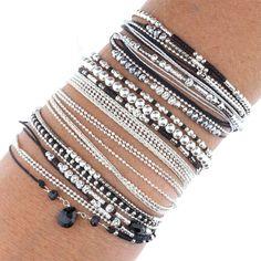 Women's Bracelets – Fine Sea Glass Jewelry Bracelets Fins, Black Bracelets, Seed Bead Bracelets, Diamond Bracelets, Stretch Bracelets, Hippie Jewelry, Beaded Jewelry, Gold Ring Designs, Chainmaille Bracelet