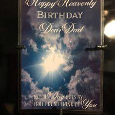 Happy Heavenly Birthday fall waterproof memorial card for | Etsy Happy Heavenly Birthday Dad, Birthday In Heaven, Dad Birthday, Missing Mom In Heaven, Photo Merge, Purchase Card, Memorial Cards, Flat Stone, Custom Cards