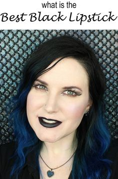 What is the best black lipstick? Urban Decay Vice Lipstick in Perversion