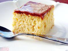 Recept Za Trilece, Trilece Recipe, Tri Lece, Croation Recipes, Food Hacks, Cornbread, Vanilla Cake, Recipies, Healthy Living
