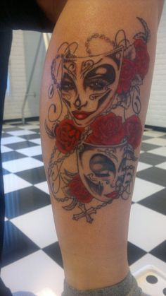 9f591c1a3 32 Best Happy Clown Face Tattoos images in 2017 | Clown face tattoo ...