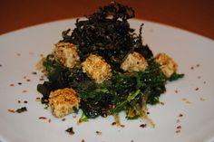 chapucillas en la cocina: ensalada de algas y tofu
